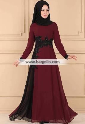 Burgundy Gypsophila Madison Heights Michigan MI US Designer Women Jilbab