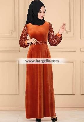 Burnt Orange Tulip Virginia Maryland USA Amazing Jilbab Outfit