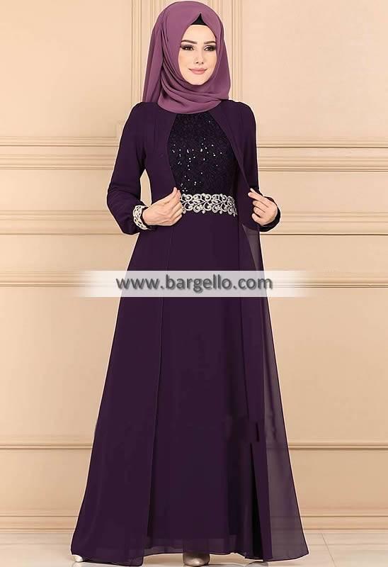 Dark Byzantium Bluebell Edmonton Alberta Canada Dazzling Jilbab Outfit