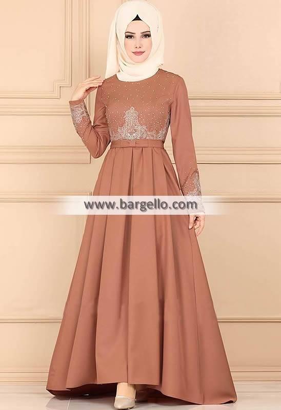 Pale Copper Bergamot Calgary Alberta Canada Amazing Jilbab Outfit