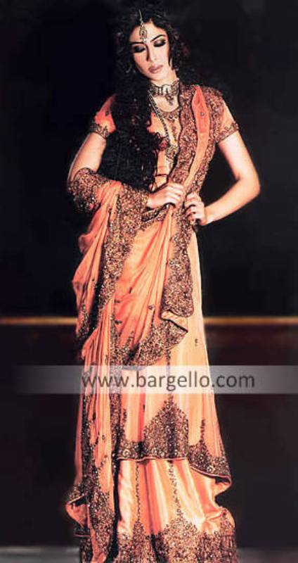 Pakistani Indian Fashion 2008-2009 for brides bridesmaid and party wears