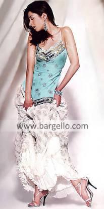Unze Special Wear Top and Off White Lehenga Pakistani Party Wear Lehenga