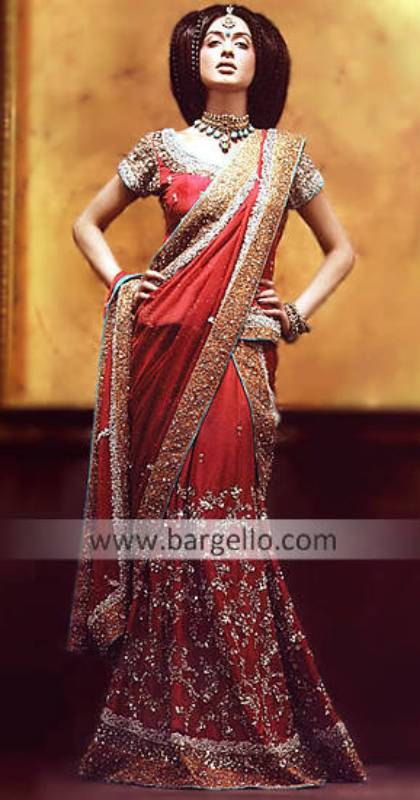 Wedding Bridal Sarees, Designer Lehengas Sarees, Pakistani Indian Saris