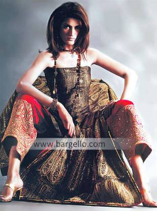 Multi Coloured Jasmine Heavily Embellished Special Occasions Dress Pakistani Special Occasions