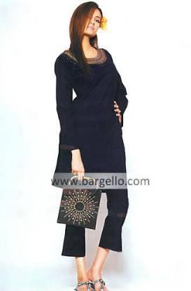 Bilochi, Balochi Handmade Embroidery Work on Modern Pakistani Trouser Suit