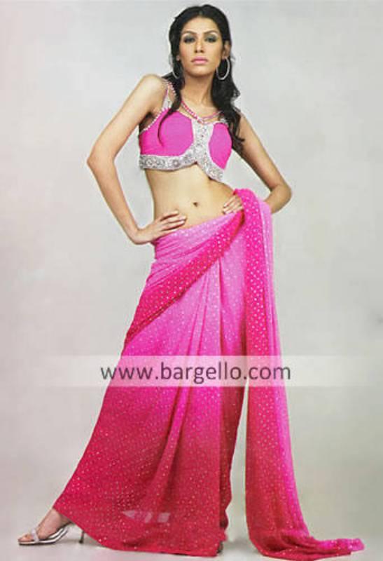 Pasty Pink Saree Pakistani Saree Pakistani Bridal Sari Wedding Sarees