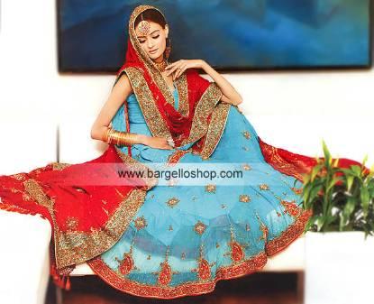 Pakistani Designer Gharara, Wedding Dress