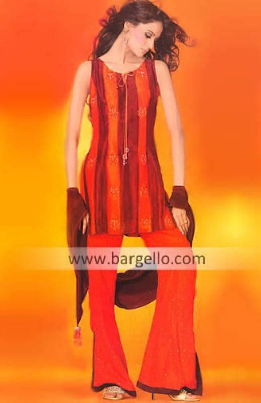 Punjbai Pranda, Mehandi Functions Suit Lahore Designers