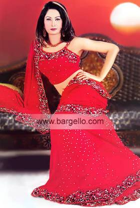Sarees Saris Sari Saree Pakistani handmade Saree Chiffon Saree