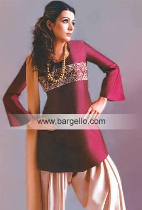 Pakistani Indian Contemporary Casual Designer Dresses in California, USA