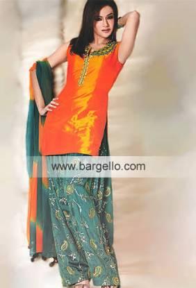Pakistani Designer Shalwar Kameez Baggy Shalwar Semi Patiala Designers Pakistan
