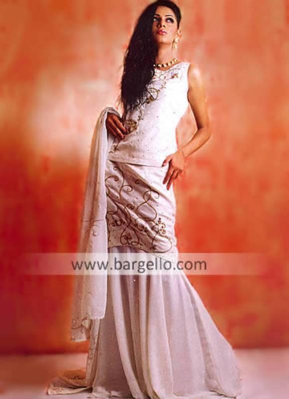 Lite Sharara Gharara Lehenga for Engagement Asian Engagement Bride