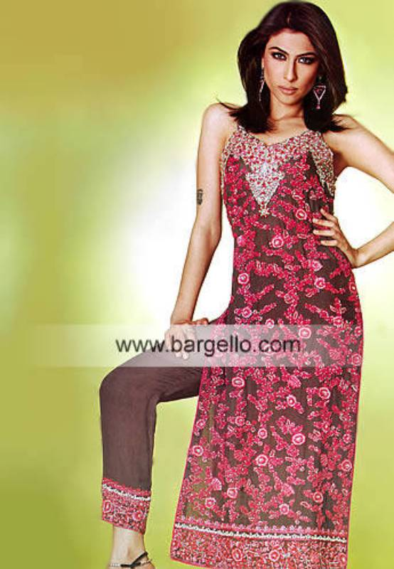 Designer Pakistani Shalwar Kameez Designer Bridal Lehenga Sharara Gharara from Pakistan