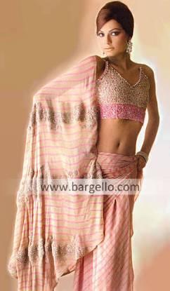 Pakistani Designer Sari Fully Embellished Designer Saree