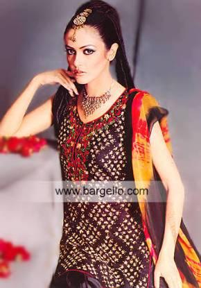 Zamzama streets lanes fashionable stores clothes shopping Karachi