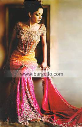 Fishtail Lehenga, Designer Lehenga, Wedding Dress