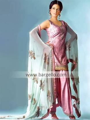 Designer Bridesmaid Shalwar Kameez, Wedding Dress