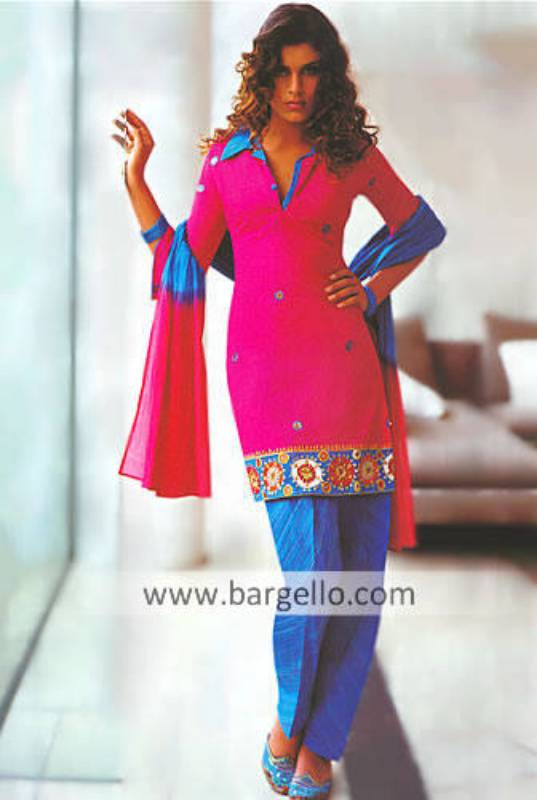 English Designer Partywear, salwar kameez UK