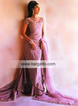 Light Purple Damask Triple Layered Skirt