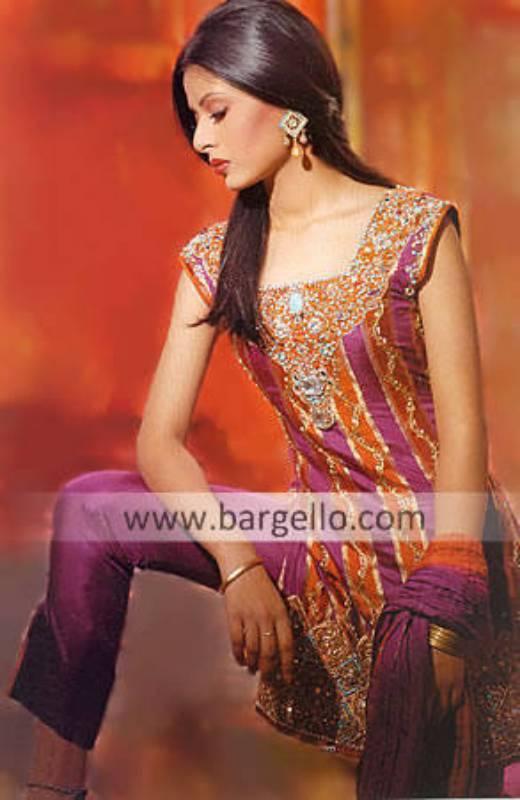 Pakistani Haute Couture Dresses, Designer Trouser Suit