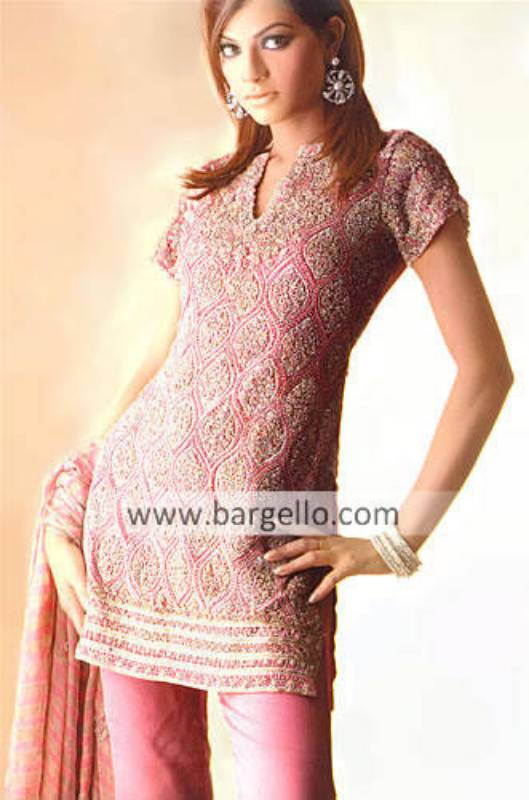 Pakistani Party Wear, High Formal Party Dress