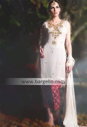 Western Hand Embellished Bridals Dresses UK