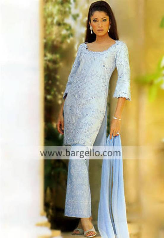 Pakistani Formal Shalwar Kameez, Party Dresses