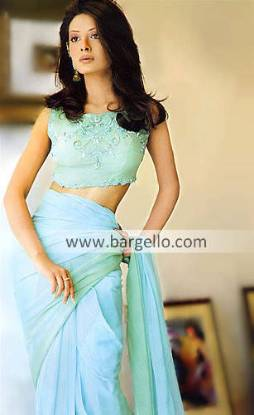 Heavy Formal Sari, Pakistani Designer Saree, Party Wear