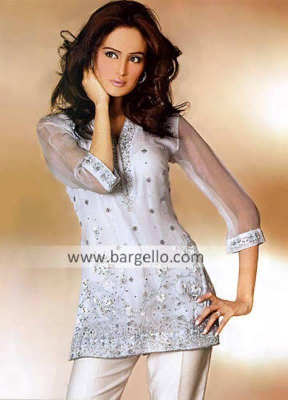 Pakistani Hand Embroidered Kurti Kaftan Tunic