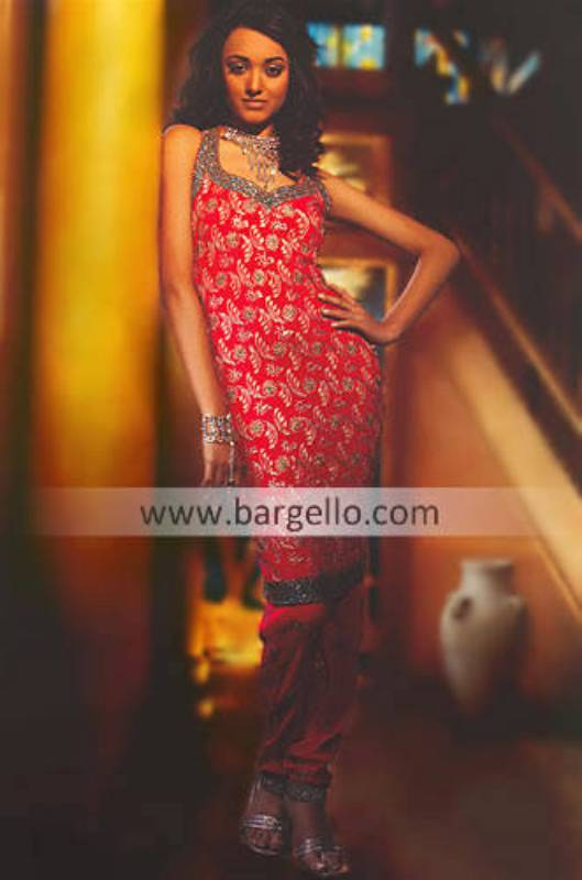 Pakistani Bridesmaid Dresses, Engagement Shalwar Kameez