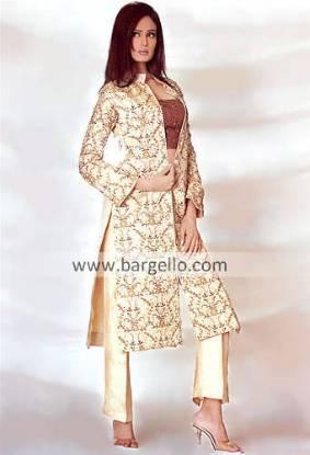 Pakistani Formal Dress, Designer Party Wear, Trouser Suit
