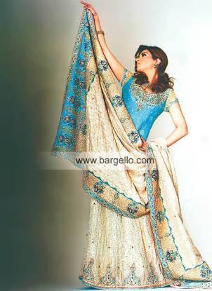 Bunto Kazmi Bridal Lehenga and Veil Designer Bridal Lehenga Pakistan