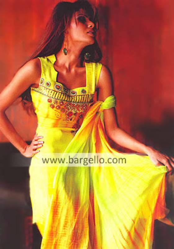 Tie n Dye Evening Dress,Pakistani Salwar Kameez