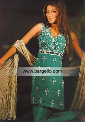 Pakistani Trouser Suit, Indian Designer Dress