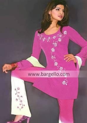 Indian Casual Dresses, Designer Salwar Kameez USA