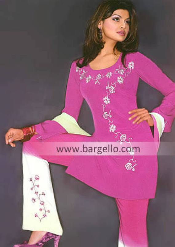 Indian Casual Dresses, Designer Salwar Kameez USA