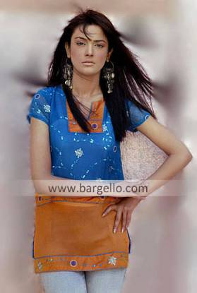 Indian Designer Kurti UK, Kaftan UK, Casual Top Tunics