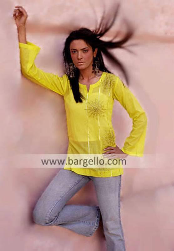 Pakistani Designer Kurti USA, Designer Tunics Top