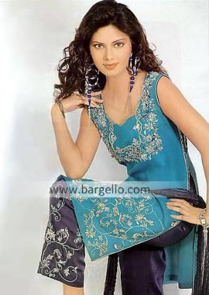 Designer Evening Clothing, Pakistani Trouser Suit