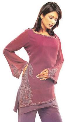 Indian / Pakistani Trouser Suit for Party Wear
