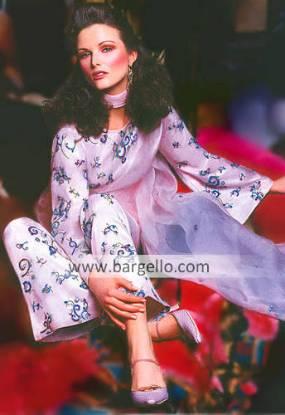 Charmeuse Silk Suit, Designer Shalwar Kameez