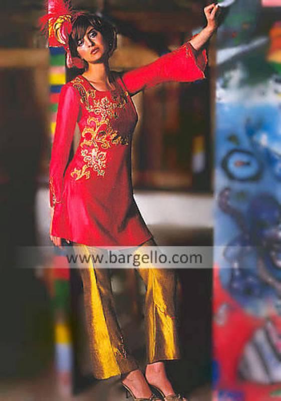 Indian Pakistani Evening Dresses, Trouser Suit
