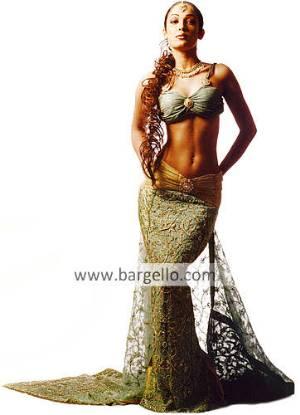 Designer Wedding Dress, Pakistani Fishtail