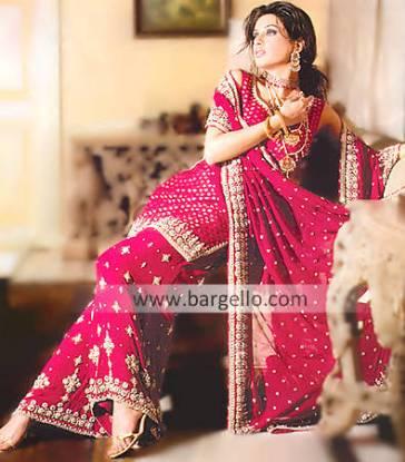 Pakistani Wedding Dress, Designer Bridal Sharara