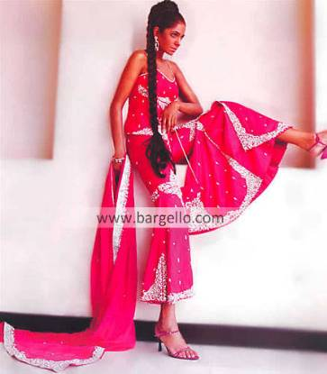 Pakistani Wedding Gharara, Designer Bridal Dress