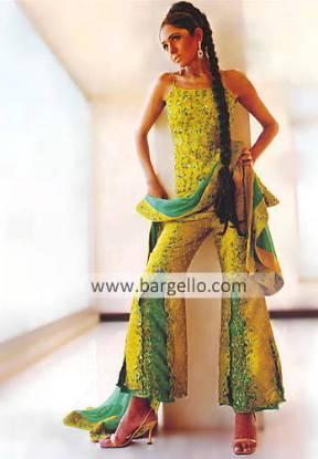 Designer Weddiing Sharara, Pakistani Bridal Dress