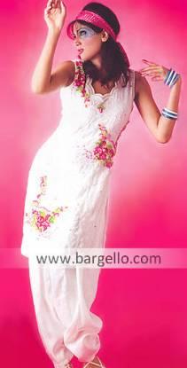 Evening Hand Embroidered Salwar Qameez Dresses