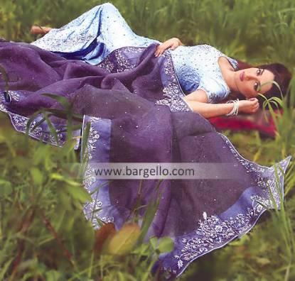 Sky Blue Bridal Lehenga Bridal Designer Shops Karachi Lahore Islamabad