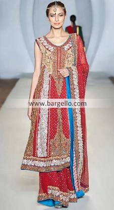 Elegant and Chic Collection of Maheen Khan at Pakistan Fashion Week London UK