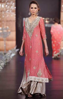 Rouge Bridal & Party Wear Collection in PFDC LOreal Paris France 2013